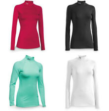 Under Armour Women's ColdGear Fitted Long Sleeve Mock Shirt