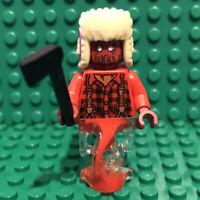 LEGO Axel Chops minifigure Ghost Lumberjack hs032 Hidden Side 70427 mini figure