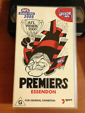 ESSENDON 2000 PREMIERS - ESSENDON vs MELBOURNE 2000 GRAND FINAL - VHS