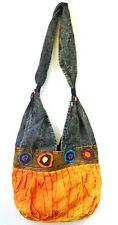 R250 New Trendy & Artistic Shoulder Drop Cotton Bag Hand Made in Nepal