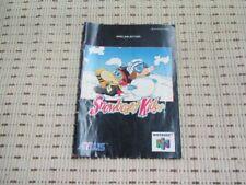 Snowboard Kids Spielanleitung / Anleitung Nintendo 64 N64