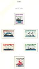 ENGLAND LOCAL STAMPS   GUERNSEY - SARK  8  ST.  1963  EUROPA **