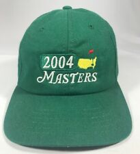 Masters Augusta National 2004 Golf Hat Cap Free Shipping!