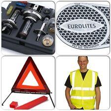 Travel Essential Kit - Bulb/Fuse & Hi Vis Vest & Beam Benders & Warning Triangle