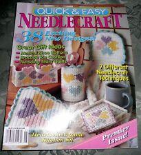 Quick & Easy Needlecraft Magazine No.1  Premier Issue