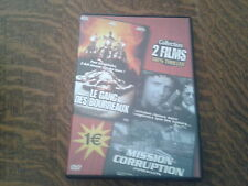 dvd collection 2 films 100% thriller  le gang des bourreaux + mission corruption