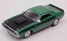 Johnny Lightning 1970 Dodge Challenger T/A 340 six pack green & black boxed