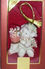 Nib Lenox 2008 Annual Teddy's Special Stocking Christmas Ornament Bear fine chi