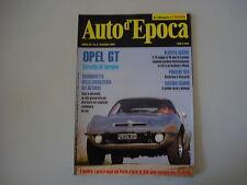 AUTO D'EPOCA 5/1995 OPEL GT/PORSCHE 924/AUTOBUS LANCIA ESATAU P V.11 BIANCHI