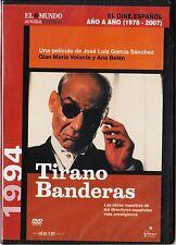 Cine español: TIRANO BANDERAS de Jose Luis García Sánchez. Edición diarios.