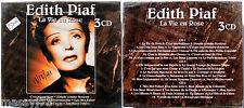 EDITH PIAF LA VIE EN ROSE 3 CD SIGILLATO (SEALED)