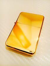 24 Karat Gold Benzinfeuerzeug Sturmfeuerzeug Feuerzeug vergoldet Luxus Edel Einz