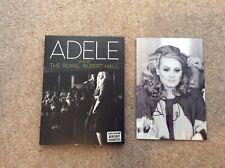 More details for adele - live at the royal albert hall  dvd + cd - signed booklet