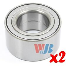 Pair of 2 New Front Wheel Bearing WJB WB510110 Interchange 510110 WB000053 FW122