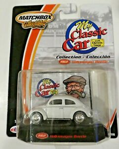 Matchbox Collectibles My Classic Car with Dennis Gage 1962 Volkswagen Beetle