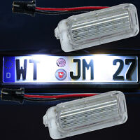 LED Kennzeichenbeleuchtung für Ford Focus C MAX S MAX Mondeo Galaxy KUGA (7903)