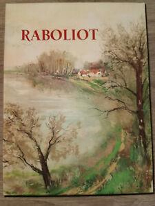 Maurice Genevoix Raboliot La belle édition Vélin de lana Numéroté 917