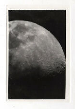 PHOTO ANCIENNE Lune Astronomie Astre Moon Satellite Vintage - Vers 1970