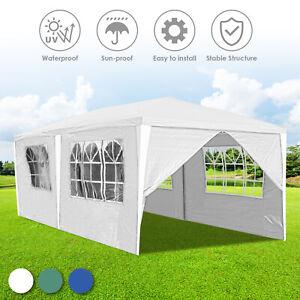 3x6m Festzelt PE Stabiles hochwertiges Pavillon Partyzelt komplett Gartenzelt