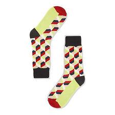 Golden Conejo Unisex Crew Socks-Marco increíblemente pequeño