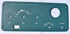 Heathkit SB-200 Green Amplifier New Aluminum Front Panel