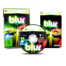 Xbox 360 Spiel Blur in OVP mit Anleitung