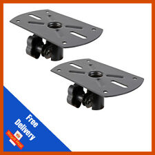 2 x Top Hat Stand Adaptor Mount Metal 35MM to fit Speaker Stand