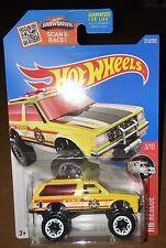 2016 Hot Wheels Chevy Blazer 4X4  Fire Dept.  Rescue Card#213