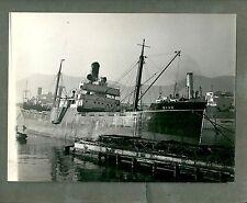 1950ca SAVO foto originale original photo marina nave ship boat navy