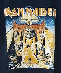Iron Maiden - Powerslave 1984 Tour shirt. BRAND NEW.