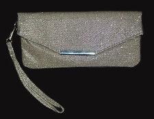 Clutch Versandhaus. Silber-Glitter. NEU!!! %SALE%