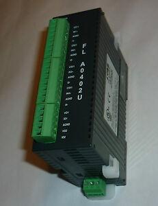 RENU automate FLEXILOGICS module d'extension analogique FLA0402U H/W REV. A2 CN