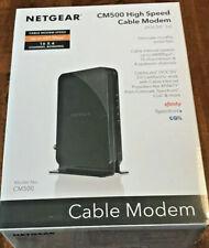 NEW! Netgear CM500 Cable Modem - Xfinity Spectrum Cox - 680 Mbps DOCSIS 3.0 16x4