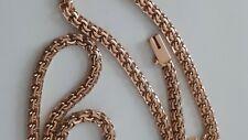 Neu Ungetragen Halskette-Massiv 585 Rosegold Bismarck(Garibaldi) Handgemacht
