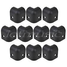 10pcs Black Plastic Guitar Amplifier Speaker Cabinet Corner Protectors S size