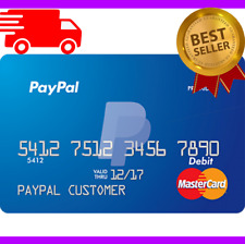 VCC paypal Virtual Credit Card Paypal 🔥 2$ Balance Verification works worldwide