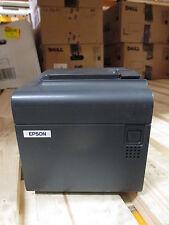 Epson TM-T90 NETWORK RJ45 Thermal POS Ticket Receipt Printer Drucker BLACK + PSU
