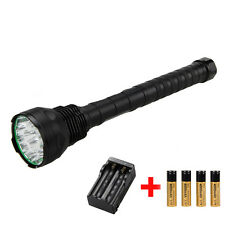 Super Bright 18000LM 15x CREE XML T6 LED Taschenlampe Lampen Fackel Licht 18650