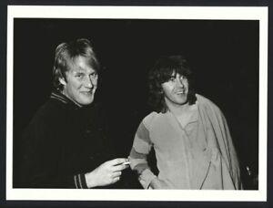 1984 ALVIN LEE & RICK TAYLOR Blues In Rome Vintage Original Photo gp