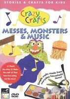 Crazy Crafts - Messes, Monsters and Music New DVD