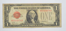 """$1 1928 UNITED STATES NOTE RED SEALED """"FUNNYBACK"""" RARE!! Fr 1500 *385"""