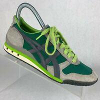 Asics Onitsuka Tiger Ultimate 81 Running Shoe Rare Green Gray HN201 Mens Sz 5.5
