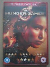 The Hunger Games - 3 Disc DVD Set