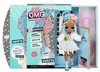 LOL Surprise! OMG Sweets Fashion Doll with 20 Surprises Playset Mar.24,21 New 🎁