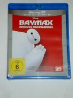 Baymax Riesiges Robowabohu  3D & 2d  Blu Ray NEU Disney