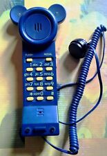 """RARE TELEPHONE """"TOPOPHONE"""" MICKEY FOR KIDS NESTLE' 1999 COLLECTIBLE WORKING LEDS"""