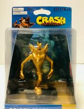 Crash Bandicoot Golden Limited Edition Figure by Totaku New Activision Rare -W