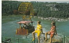 CANADA ,SPANISH AEROCAR OVER RAPIDS, NIAGARA FALLS,ONTARIO, USED 1972
