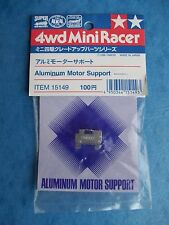 TAMIYA 15149 ALUMINUM MOTOR SUPPORT 4WD MINI RACER SLOT PART NIP