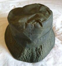 Barbour Wax Bucket Hat (Size Medium)